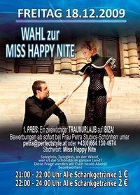 Wahl zur Miss Happy Nite