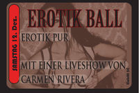 Erotik Ball mit Live Show