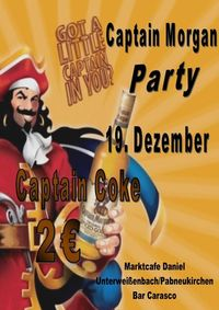 Captain-Morgan Party@Bar Carasco