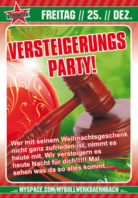 Versteigerungs Party!@Bollwerk