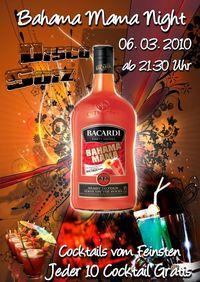 BahamaMama Night@Disco Soiz