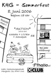 KHG Sommerfest@KHG Heim