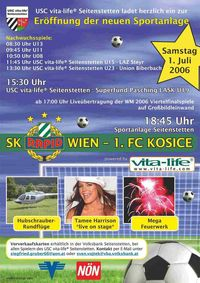 SK Rapid Wien in Seitenstetten@Sportanlage