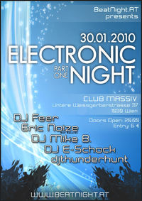 Electronic Night Part One@Club Massiv