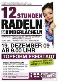 12 Stunden Radeln für ein Kinderlächeln@Topform.cc