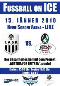 Fussball on ICE@Donaupark Eishalle