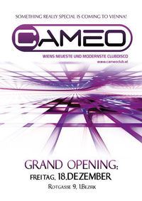 Grand Opening: Cameo