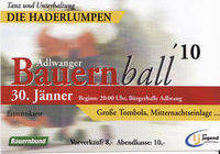 Landjugend- /Bauernball Adlwang@Bürgerhalle