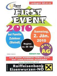First Event 2010@Hause Zulehner (Steindl)