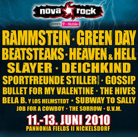 NovaRock Fest 2010@Panonnia Fields