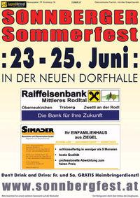 Sonnberger Sommerfest 2006@Dorfhalle Sonnberg