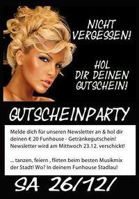 Gutscheinparty@Funhouse Wien