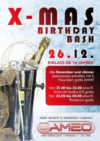 X-Mas Birthday Bash