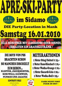 Apre-ski-party Im Sidamo@Cafe Sidamo Mank
