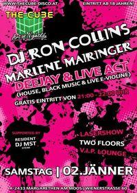 Dj Ron Collings & Marlene Mairinger live