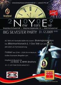 New Years Eve Big Silvester Party@Brauhaus Museum