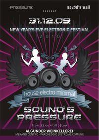 New Years eve Electronic Festical@Algunder Weinkellerei