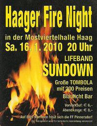 Haager Fire Night@Mostviertelhalle