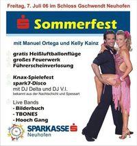Sparkassen Sommerfest@Schloss Gschwendt