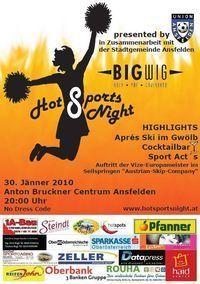 Hot Sports Night@Anton Bruckner Centrum