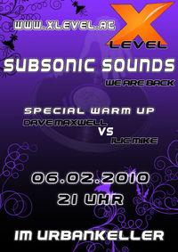 Subsonic Sounds Level 2@Urbankeller