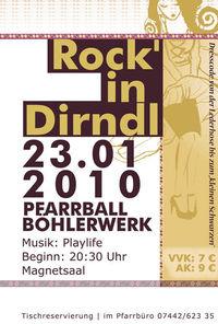 Rock'in Dirndl - Pfarrball Böhlerwerk@Böhlerzentrum