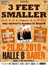 3 Feet Smaller Live@Halle B