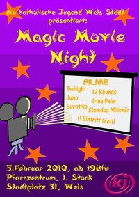 Magic Movie Night@Pfarrheim der Stadtpfarre Wels