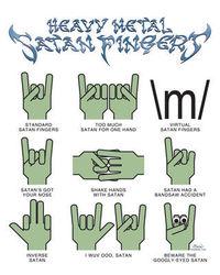 Diverse METAL fingers