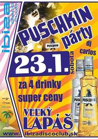 Puschkin Party@Ibiza Disco Club