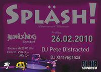 Spläsh! Electronic and Housemusik im Gewäxhaus@Gewäxhaus
