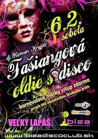 Fašiangová Oldie's Disco@Ibiza Disco Club