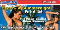 Beach- & Summernight@Amadeus Dancefactory