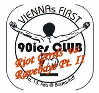 (Viennas First) 90ies Club @Badeschiff