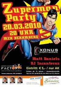 Gruppenavatar von Zuperman Party 2010