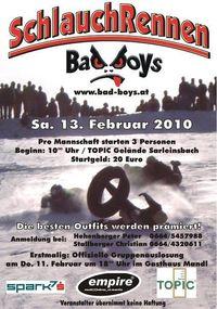 Bad Boys Schlauchrennen@Topic Gelände Sarleinsbach
