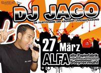 DJ Jago@ALFA - alte Papierfabrik (Papiermachermuseum)