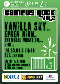 Campus Rock Vol.2@LUI- JKU Linz