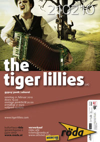 The tiger lillies@KV Röda