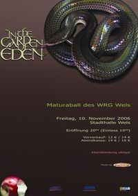 In The Garden of Eden - Ball des WRG Wels@Stadthalle