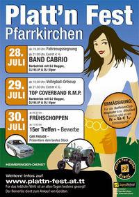 Plattn Fest Pfarrkirchen@Sportplatz