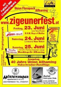 Zigeunerfest Allhaming 2006@Fazeni Stadl