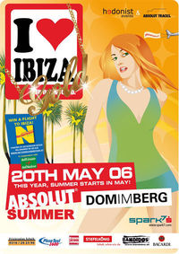 I love Ibiza Gold - absolut summer@Dom Im Berg