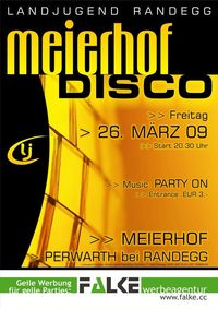 Meierhof Disco@Perwarth