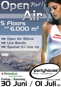 1st Open Air@Partyhouse