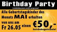 Birthday Party & Ladies Night