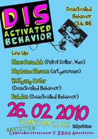 Disactivated Behavior@Yum Yum - Club