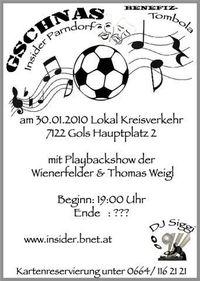 Faschingsgschnas Insider Parndorf@Lokal Kreisverkehr