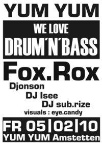We Love Drum & Bass@Yum Yum - Club