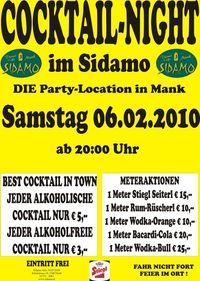 Cocktail-Night im Sidamo@Cafe Sidamo Mank